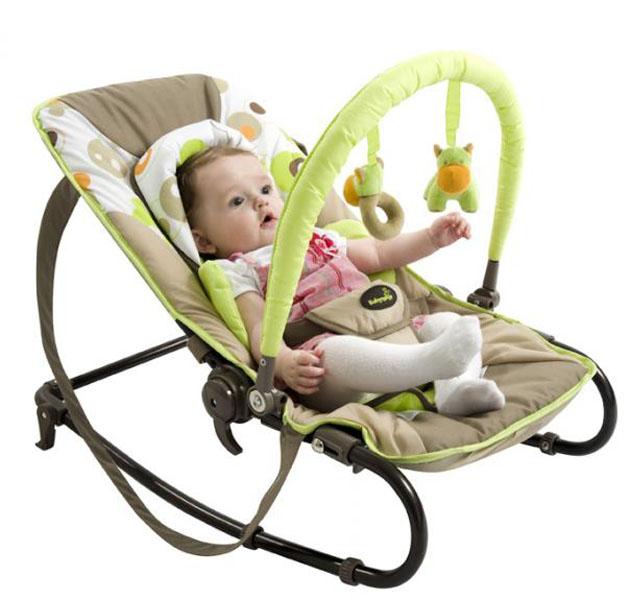 кресло качалка с игрушками